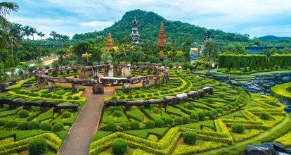 kinh nghiệm du lịch pattaya tự túc: vườn nhiệt đới nong nooch