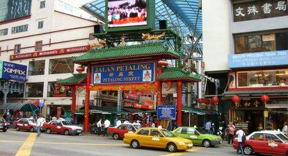 kinh nghiệm du lịch kuala lumpur nên đi đâu? khu phố tàu china town