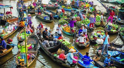 kinh nghiệm du lịch cần thơ tự túc nên đi đâu chơi? chợ nổi cái răng