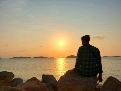 ngắm bình minh trên đảo nam du
