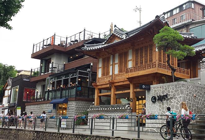 Phố cafe Samcheongdong