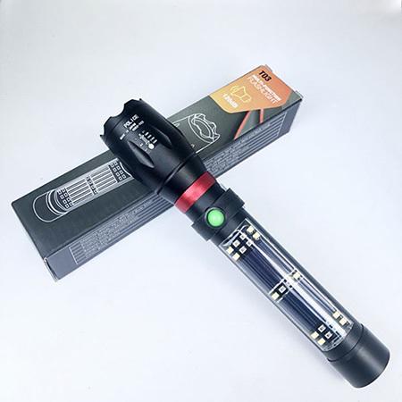 Đèn pin siêu sáng T03 có còi hú