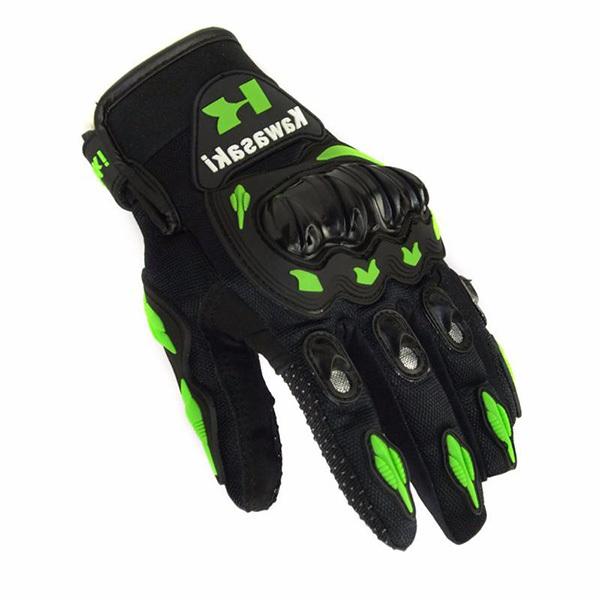 Găng tay Kawasaki dài ngón xanh đen