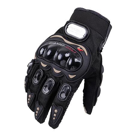 Găng tay Pro-Biker cụt ngón màu đen