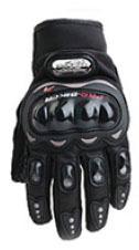Găng tay Pro-Biker full ngón màu đen