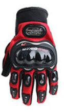 Găng tay Pro-Biker full ngón màu đỏ