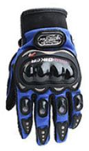 Găng tay Pro-Biker full ngón màu xanh