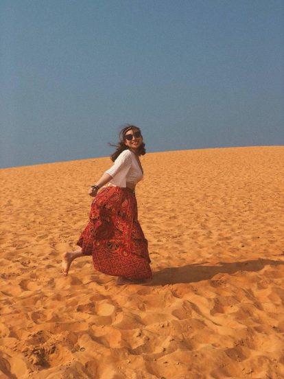 du lịch mũi né nên đi đâu chơi? đồi cát bay