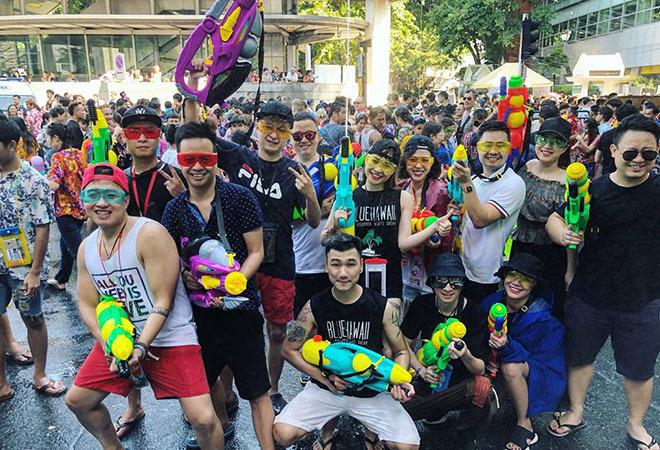 Kinh nghiệm tham gia lễ hội té nước Songkran tại Thái Lan