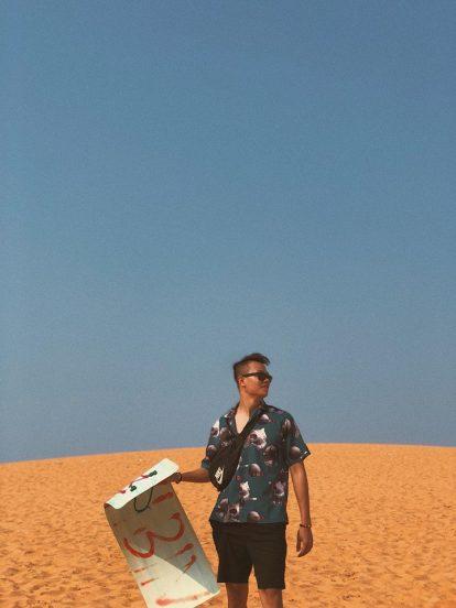 du lịch mũi né tự túc nên đi đâu chơi? đồi cát đỏ
