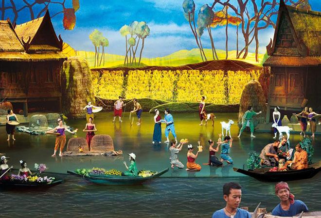 Vé show biểu diễn Siam Niramit Bangkok