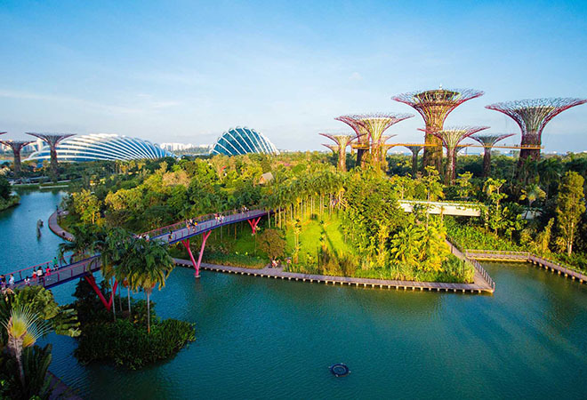 Vé tham quan Gardens by the Bay Singapore