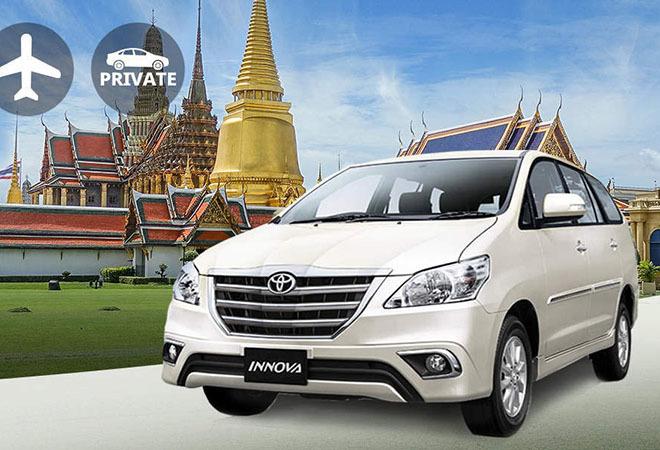 Thuê xe đưa đón từ sân bay Suvarnabhumi (BKK) về Bangkok và ngược lại