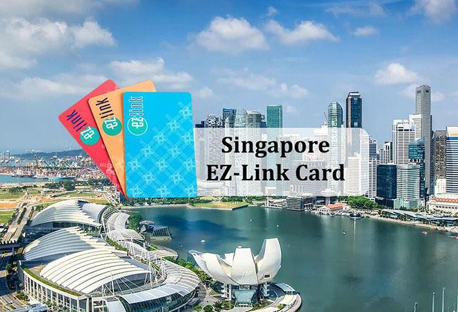 Thẻ EZ Link Singapore – thẻ đi tàu điện & xe bus