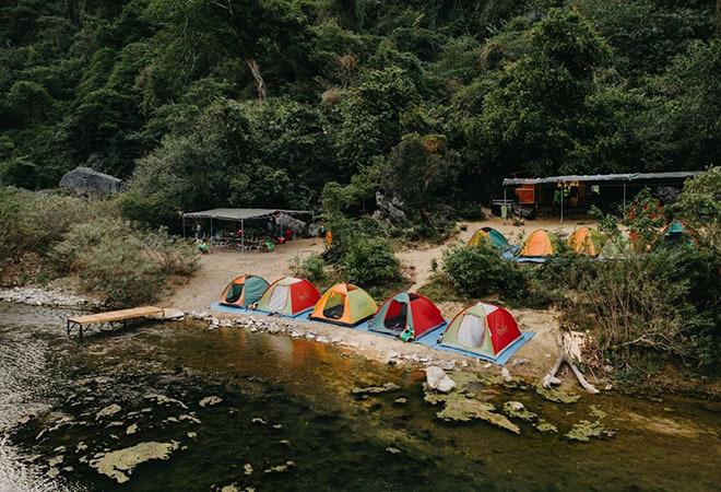 Kinh nghiệm trekking Hang Tiên – Tú Làn 3 ngày 2 đêm
