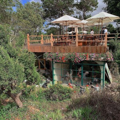 9 quán cà phê cực chất ở đà lạt: kdl lá phong
