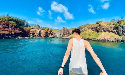 bãi biển đảo phú quý siêu đẹp