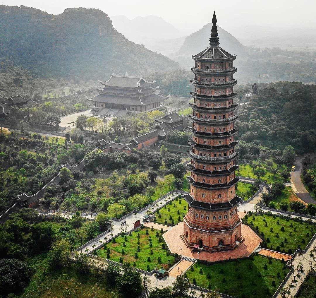 Chùa Bái Đính - Biểu tượng du lịch Ninh Bình 2020