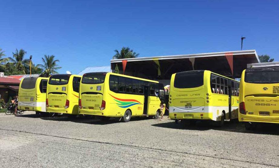 bến xe bus tại cebu