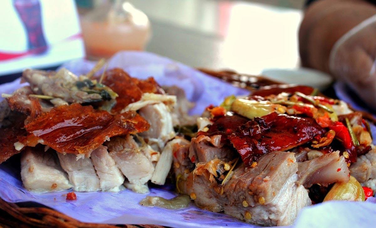 món lechon thịt lợn quay