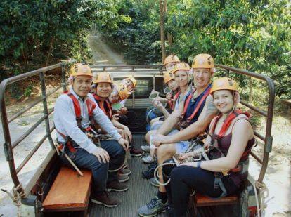 tour zipline dragon jungle ở chiang mai