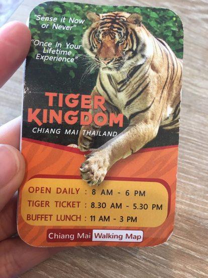 vé tham quan vương quốc hổ tiger kingdom