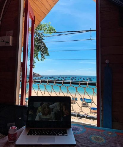 phòng view biển của la beach house