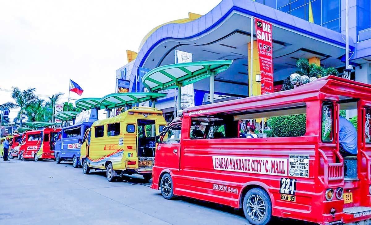xe jeepney ở cebu