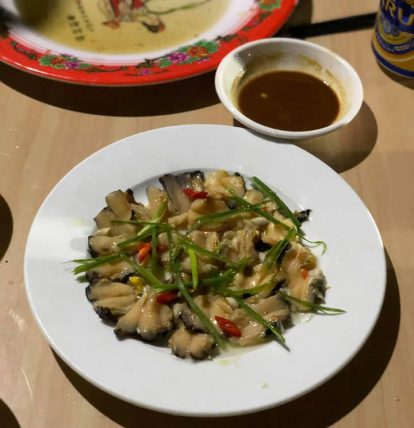 du lịch cù lao chàm nên ăn gì ở đâu? thưởng thức hải sản nhà cô hương chú phúc