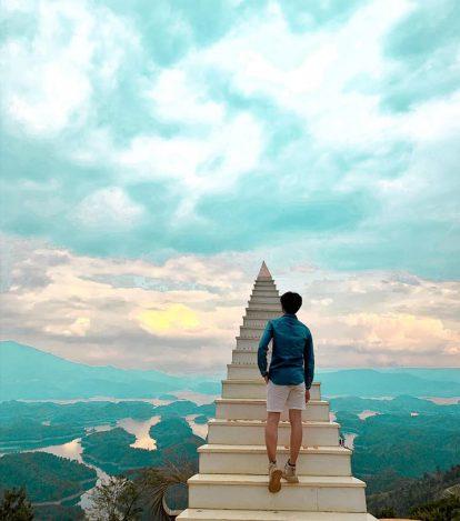 nấc thang lên thiên đường tại tà đùng