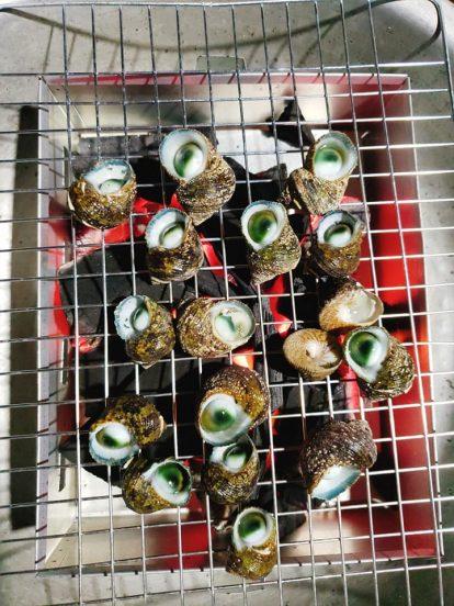 thưởng thức hải sản tại hòn nghệ kiên giang