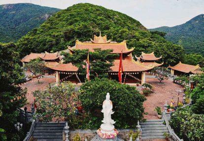 toàn cảnh chùa vân sơn tại côn đảo