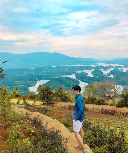view hồ tà đùng siêu đẹp